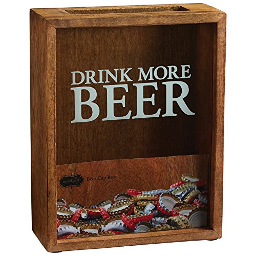 Mud Pie Beer Cap Display Box (Cap Bottle Shadow Box)