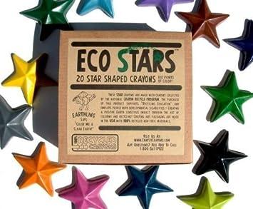 Amazon.com: Crazy Crayons Eco Stars (100% Recycled Crayons ...