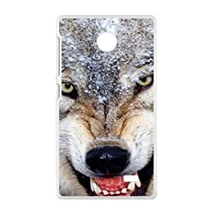 New Style Custom Picture wolf Phone Case for Nokia Lumia X