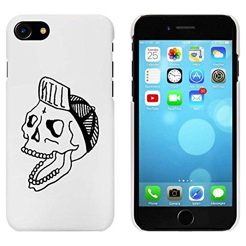 Blanc 'Casquette de Port de Crâne' étui / housse pour iPhone 7 (MC00056538)