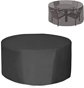 Patio Furniture Covers Waterproof Round Patio Table Chairs Cover 60