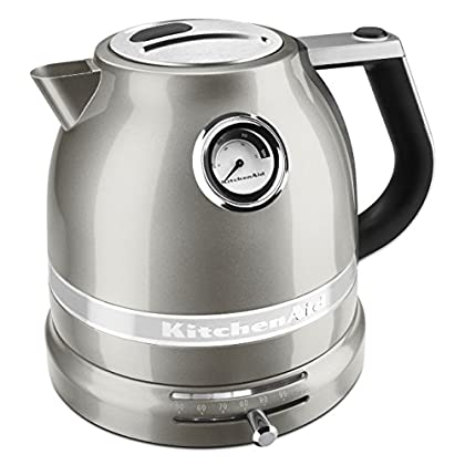 Image of KitchenAid KEK1522SR Pro Line Sugar Pearl Silver 1.5 Liter Electric Kettle