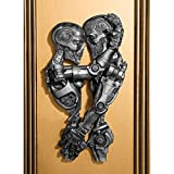 Design Toscano Steampunk Machine-age Sweethearts Wall Sculpture