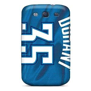 JohnPrimeauMaurice Samsung Galaxy S3 Excellent Hard Phone Covers Customized Stylish Oklahoma City Thunder Series [sBK17258NTeq]