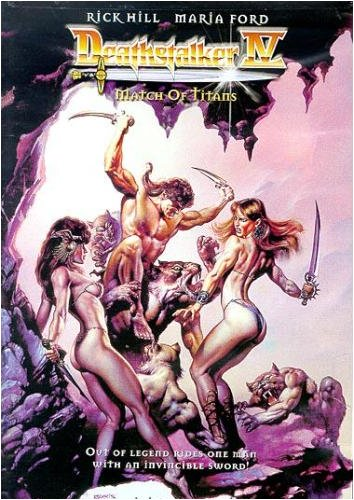 Deathstalker: Match of Titans (Roger Cormans Cult Classics Sword And Sorcery Collection)