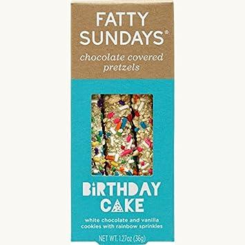 Amazon Fatty Sundays Chocolate Covered Pretzels 127oz
