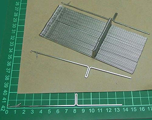 Brother Knitting Machine Needles for KH820 KH830 KH840 KH860 KH868 KH881 KH940 KH970 50pcs