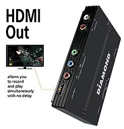 Diamond GC1500 HD Video Capture/Game Box Recorder for Windows, Mac, PS3/PS4, Xbox360/XBox One, and WiiU