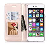iPhone-7-Plus-Case-Cover-ProCase-Wallet-Flip-Case-with-Wristlet-Strap-Build-in-Card-Slots-and-Mirror-Stylish-Slim-Stand-Cover-for-Apple-iPhone-7-Plus