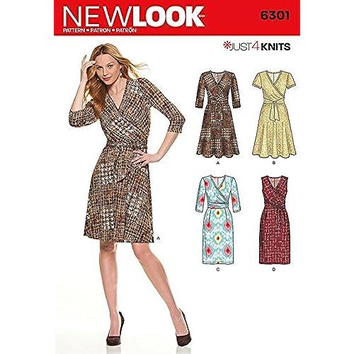 Wrap Dress Patterns Amazon