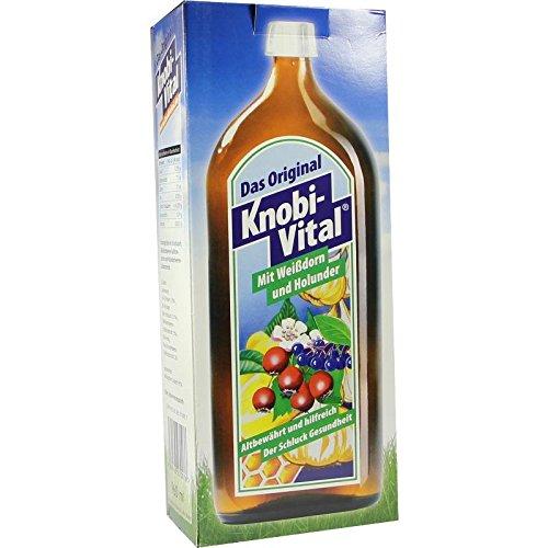 KNOBIVITAL mit Weißdorn+Holunder 960 ml Flaschen
