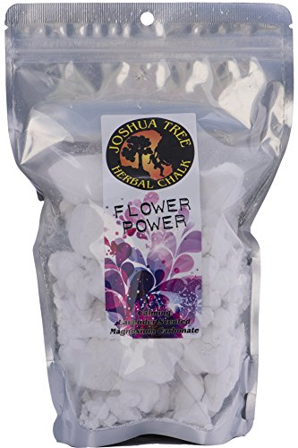 Joshua Tree Scented Herbal Loose Chalk for Climbing and Gymnastics Flower Power