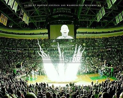 Kevin Garnett Boston Celtics Garden jumbo tron 8x10 11x14 16x20 photo 344 - Size 8x10 ()