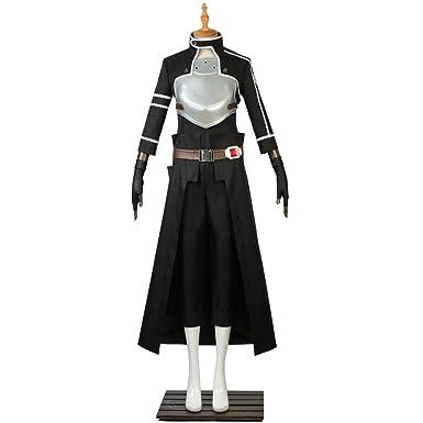 bce68af51c795 Amazon.com: CosplayDiy Men's Suit for SAO Sword Art Online Kirito ...