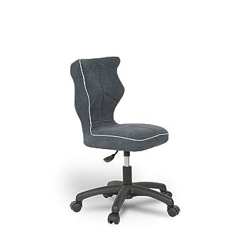 Entelo Bonne Chaise PR ASS3GA Twist Alta De Bureau Enfant Tissu Graphite Taille 3