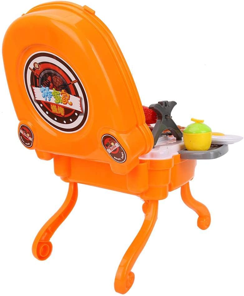 Dilwe Giocattoli Cucina BBQ,Fingere Il Barbecue Cucina per Bambini Set Giocattoli per Barbecue Giochi per Bambini Giochi per Barbecue