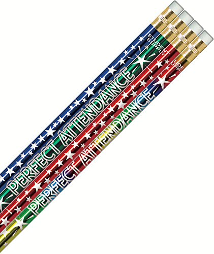 Perfect Attendance Star Pencils (Attendance Pencils)