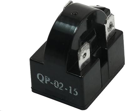 Sourcingmap 15 Ohm Widerstand 3 Polig Kühlschrank Ersatzteile Ptc Starter Relais De Baumarkt