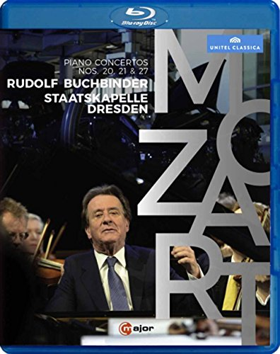 Rudolf Buchbinder Plays Mozart Piano Concertos (Blu-ray)