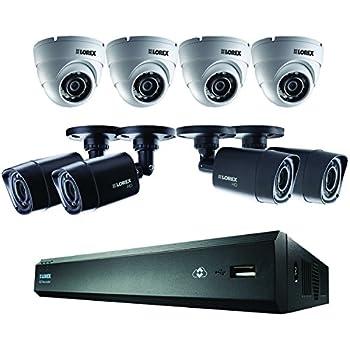 Amazon Com Lorex 8 Channel 4 Bullet Cameras W 1tb 1080p