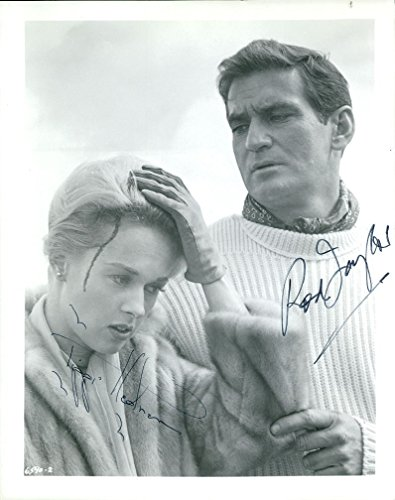 The Birds (Tippi Hedren & Rod Taylor) (Vintage) signed photo
