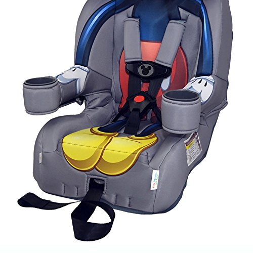 Kids Embrace Disney Mickey Mouse Combination Harness Booster Toddler Car Seat 2 Pack