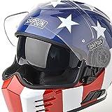 Simpson - Ghost Bandit Glory Helmet (Limited Edition) color:Patriot size:L