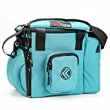 """King Kong Fuel Meal Prep Bag - Insulated Thermal Polyester Lunch Bag, Military Spec Nylon Cooler Bag for Meal Prep - 10"""" x 14.5"""" x 9"""" - Teal"""