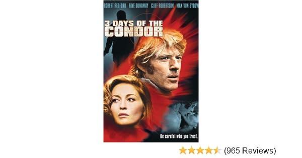 Amazon com: Watch Three Days of the Condor | Prime Video