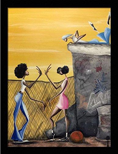 amazon com us art pattycake children by doyle 18x24 black