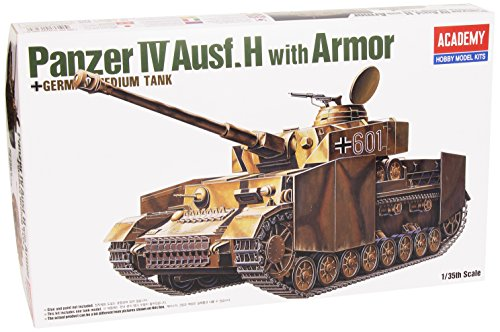 Academy 1/35armoured Combat Tank Iv Ausfür H Ac13233with Armor Panzer Iv Turret