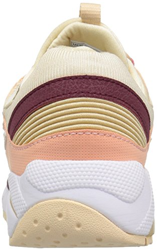 Cream 9000 Grid Uomo Saucony amp; Beige Rosso Sneakers PW5TqO