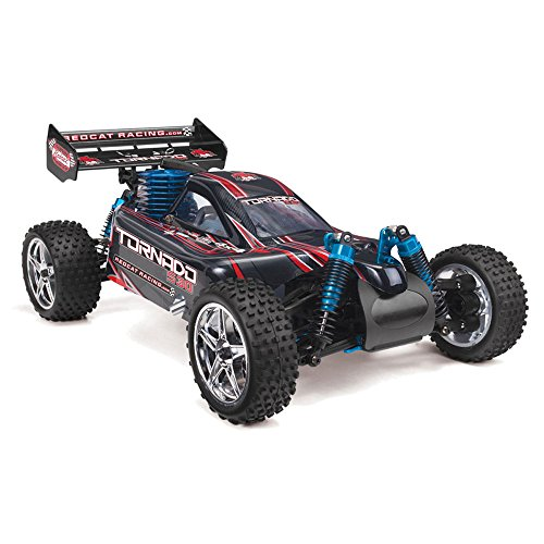 Redcat Racing Tornado S30 Buggy Nitro with 2.4GHz Radio (1/10 Scale), Blue/Red by Redcat Racing