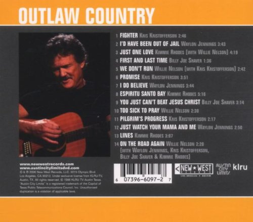 Outlaw Country - Live From Austin Tx (Dig) by New West Records