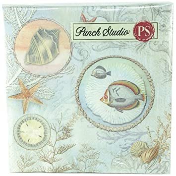 Punch Studio Beverage Napkins- #43216 Seascape by Punch Studio ...