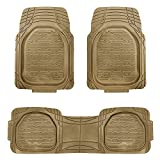 xlr car soap - FH Group F11323TAN Floor Mat (Supreme Rubber Trimmable for Cars, SUVs, and Trucks), 1 Pack
