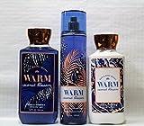Cheap Bath & Body Works ~ Signature Collection ~ Warm Coconut Blossom ~ Shower Gel ~ Fine Fragrance Mist & Body Lotion ~ Trio Gift Set