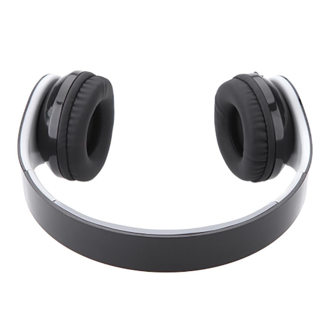 dreamyth Kinganda inalámbrica Bluetooth auriculares estéreo auricular con receptor USB para PS4 juego PC, Negro: Amazon.es: Deportes y aire libre