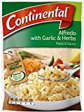 Continental Alfredo Garlic & Herb Pasta & Sauce Side Dish  85g