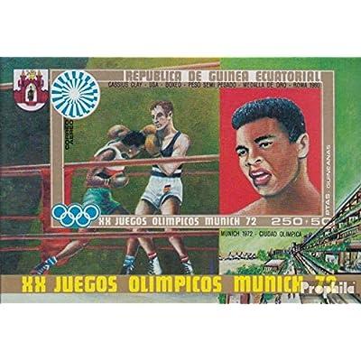 Äquatorialguinea Bloc 14 (complète.Edition.) 1972 Jeux Olympiques Été (Timbres pour les collectionneurs)