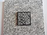Living Monument: An Engraved Memorial QR Code Plate offers