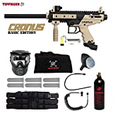 MAddog Tippmann Cronus Basic Tactical Corporal Paintball Gun Package – Black/Tan For Sale
