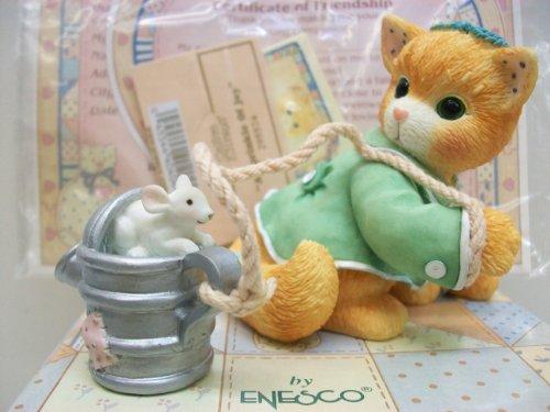 Enesco Calico Kittens Figurine A Sprinkle of Joy
