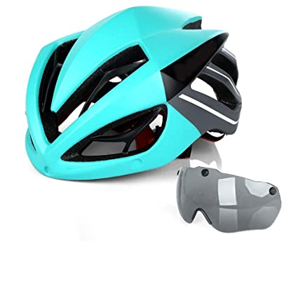 Amazon.es: Light Keel Riding Casco Gafas Gafas Moldeado ...