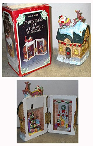 Open Stores Christmas Eve - Christmas Eve at Home open-up Musical House Box