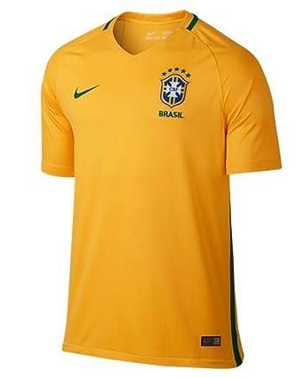 79c74cfbf1b0 Brazil 2016 Home Shirt: Amazon.co.uk: Sports & Outdoors