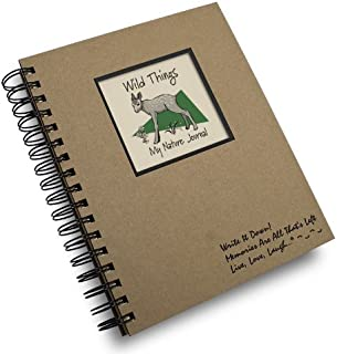 product image for Wild Things, My Wilderness Journal - Kraft Hard Cover (prompts on every page, recycled paper, read more...)