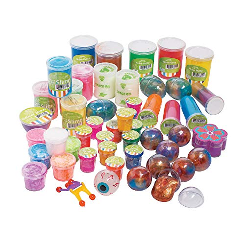 Putty & Slime Assortment (50 pcs. per unit) by Fun Express (Image #1)