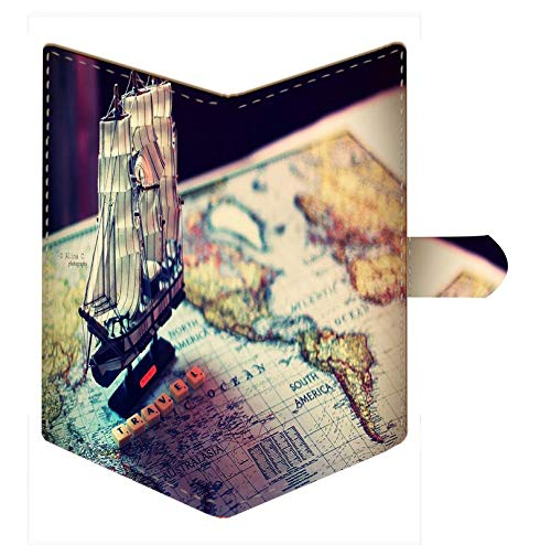Shopmania Canvas Printed Premium PU Leather Passport Holder Travel Wallet Cover Case Credit card /& Money Storage Organizer SPHW-061