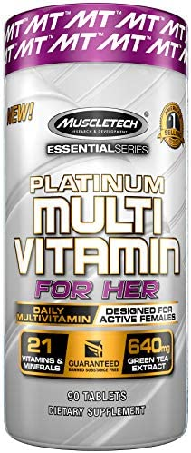 Muscletech Essential Platinum Multi Vitamin